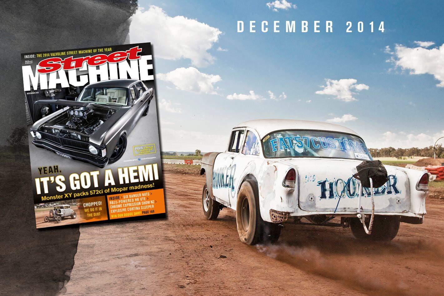 Street Machine December issue on sale