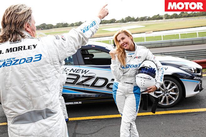 Mazda -celebrity -race -13