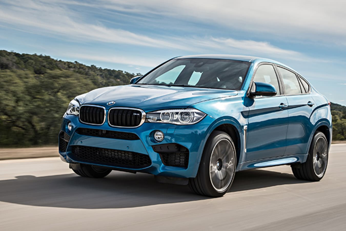 BMW X6 M Front Side
