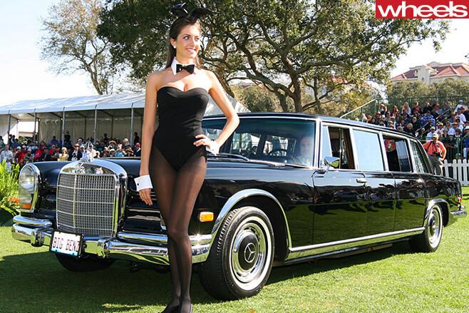 1963-Mercedes -Benz -600-at -Playboy -mansion