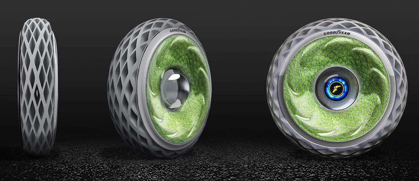 Goodyear Oxygene becomes a living breathing tyre