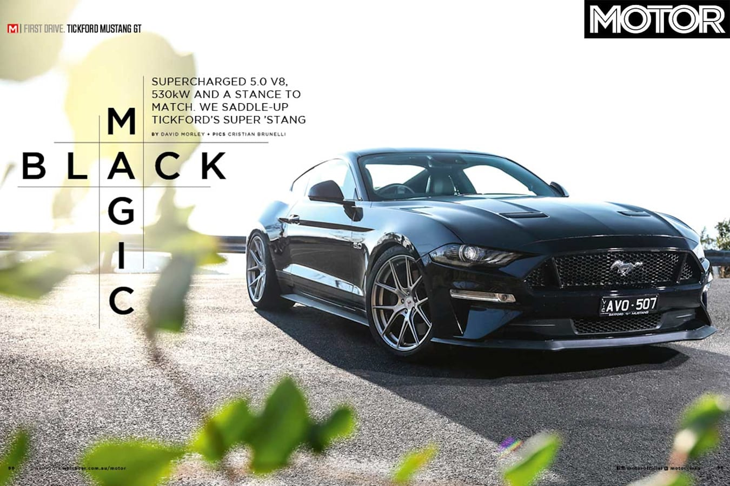 MOTOR Magazine March 2019 Issue Tickford Mustang Gt Jpg