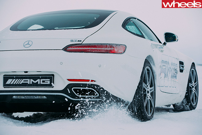 AMG-GT-rear -drifting