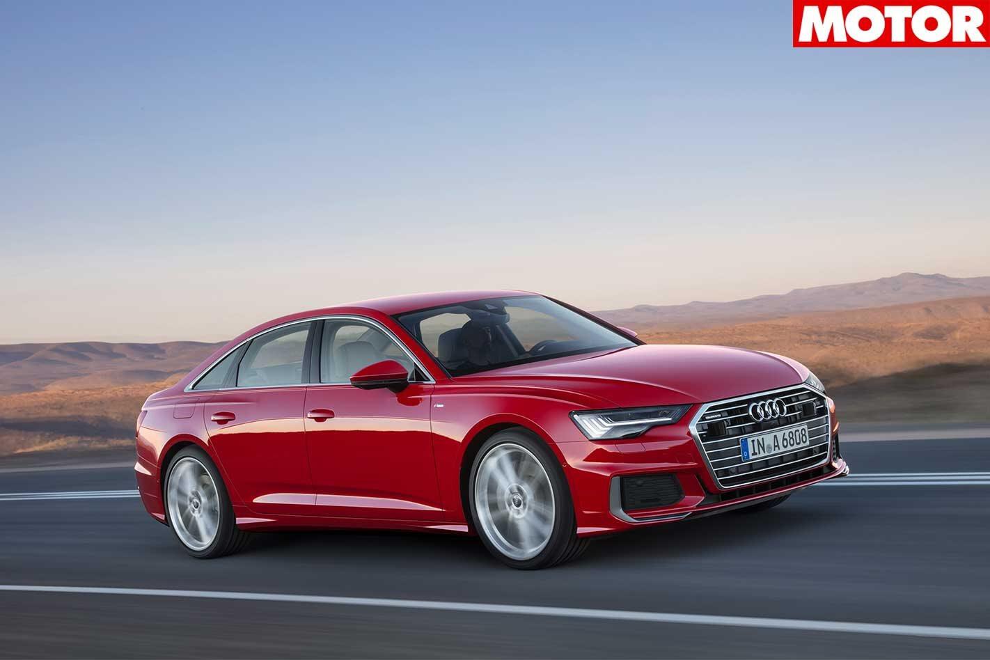 2018 Audi A6 revealed news