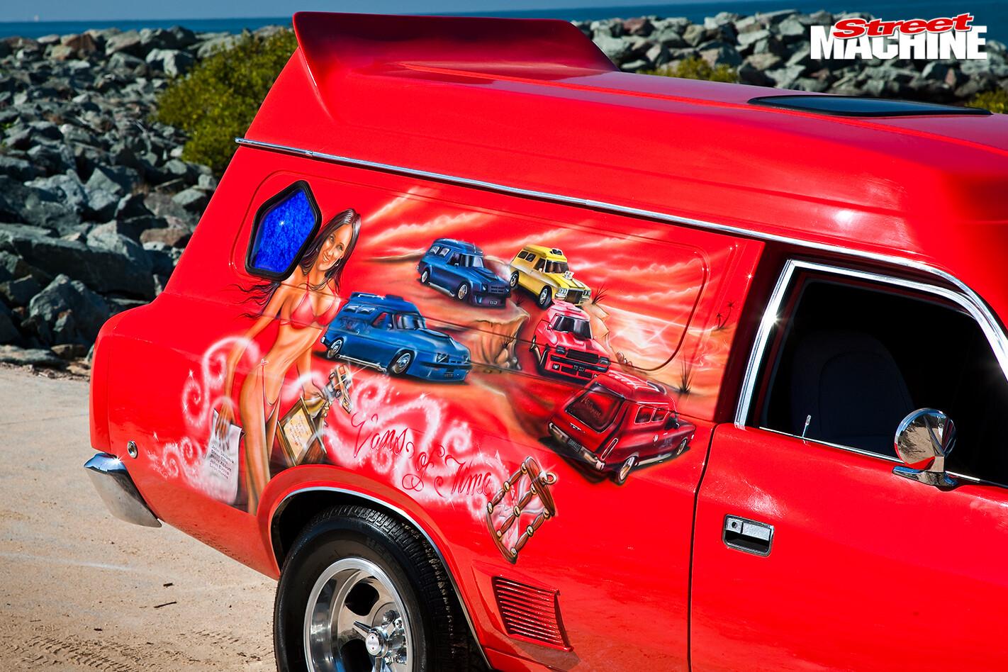 Chrysler -panel -van -murals
