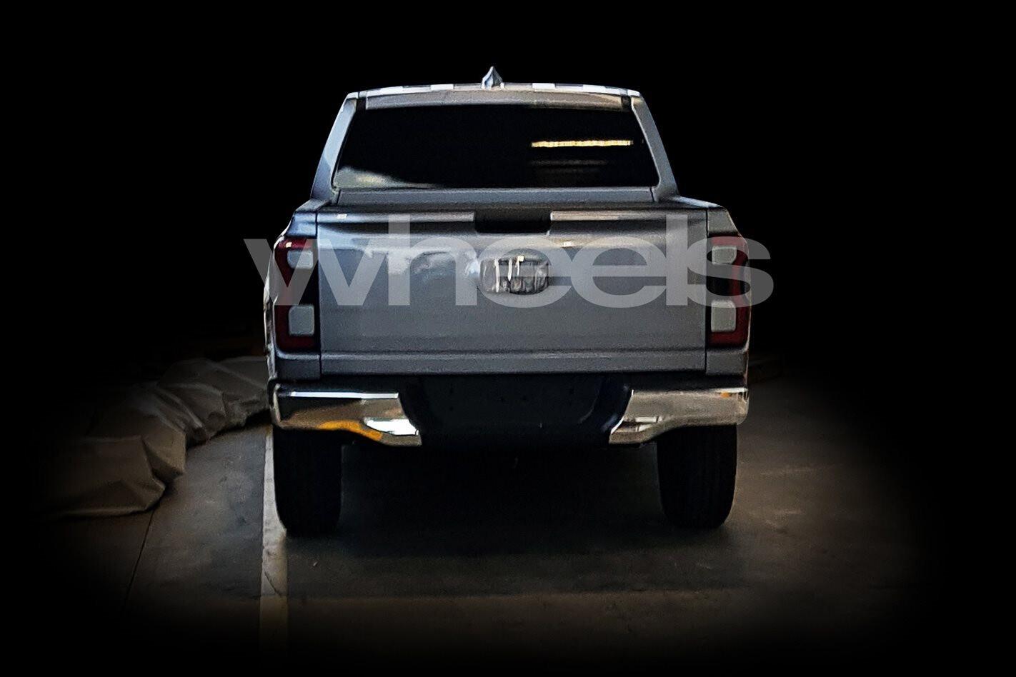 Ford Ranger Rear Jpg