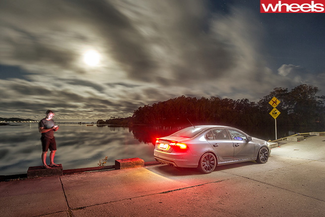 Ford -Falcon -XR8-Sprint -rear -side -taillights