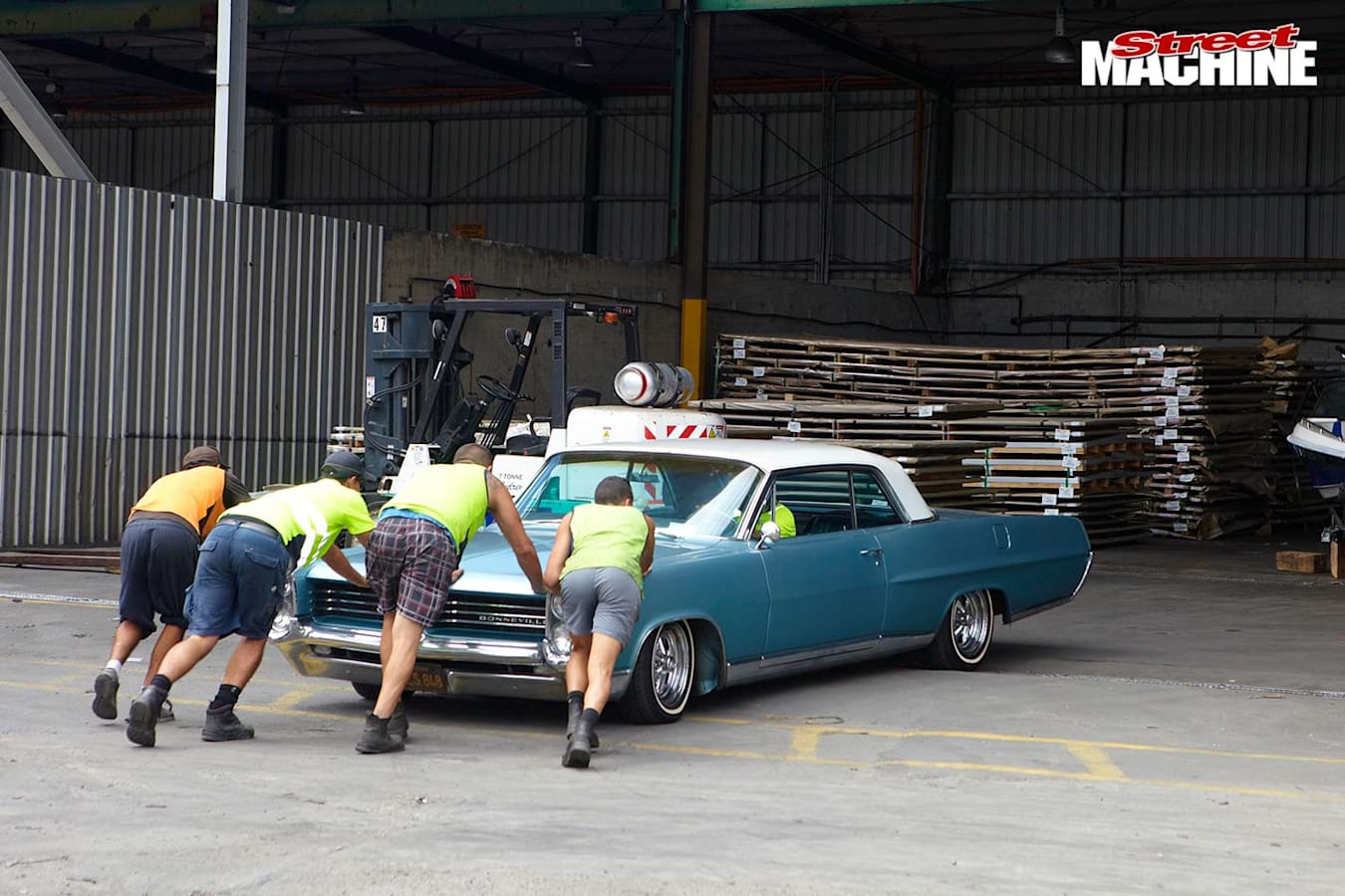 taking the bonneville coupe to customs