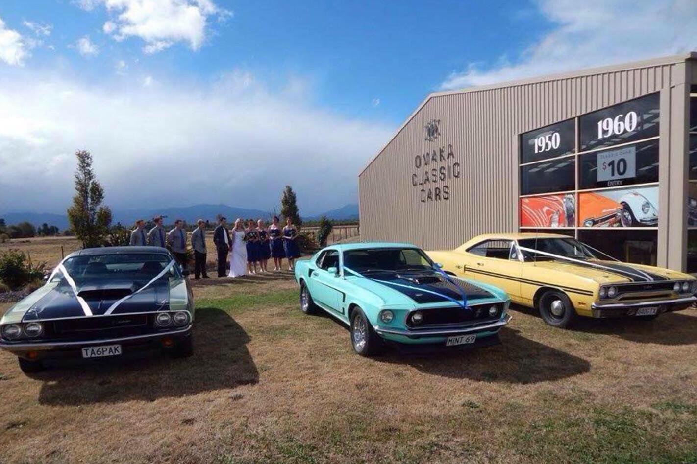 Adam Beaumont's wedding cars