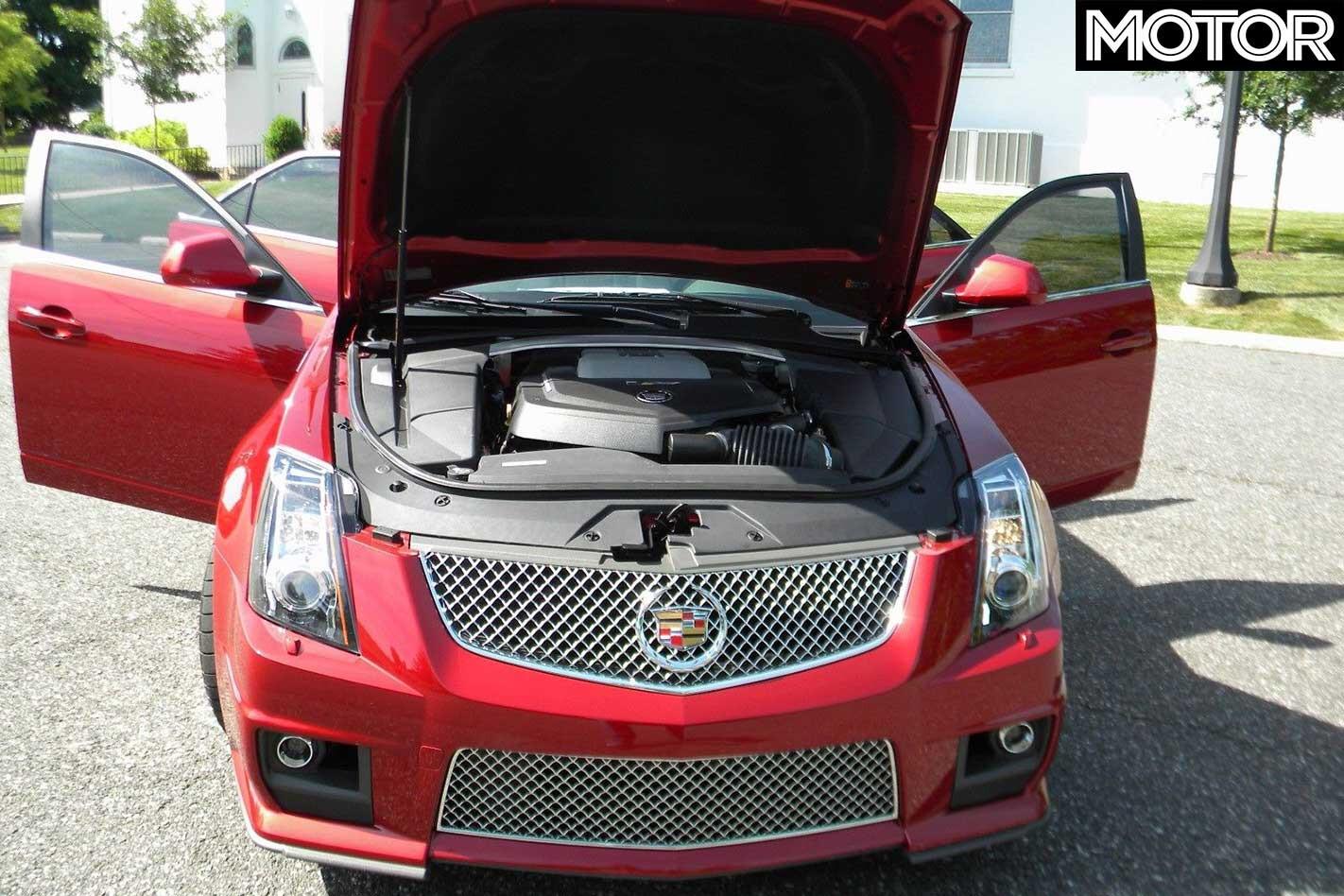 2014 Cadillac CTS V Wagon Engine Jpg