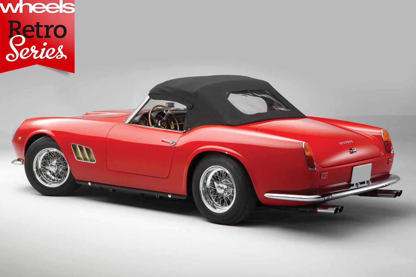1960-Ferrari -250-GT-California -rear -side