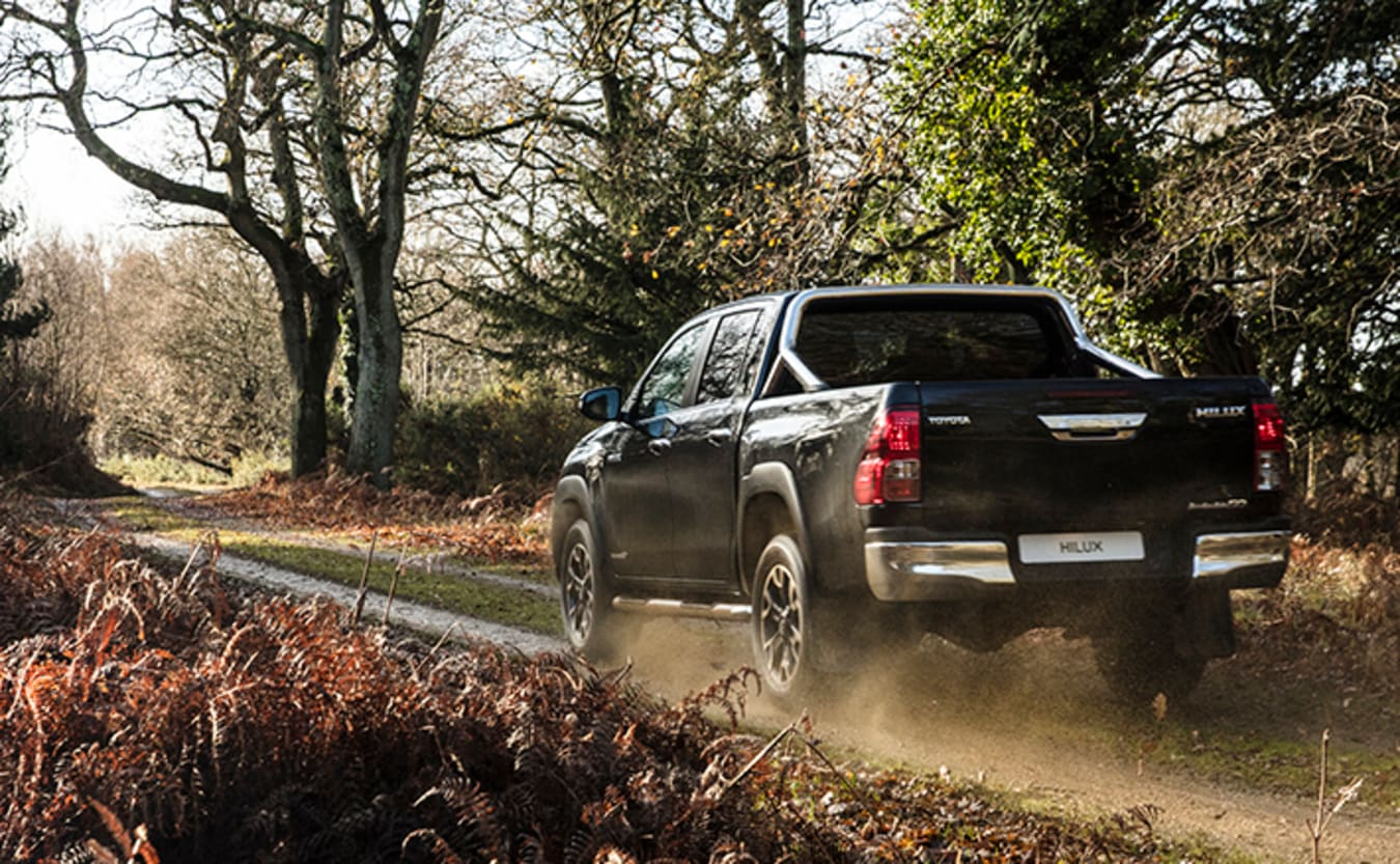 Toyota reveals 50th anniversary Hilux special edition rear