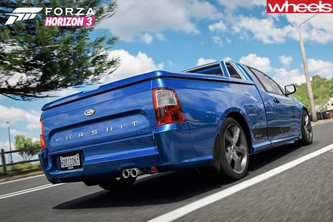 Ford -Falcon -Pursuit -Forza -Horzion -game