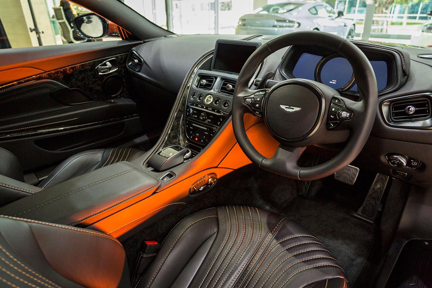 Aston -Martin -DB11-interior