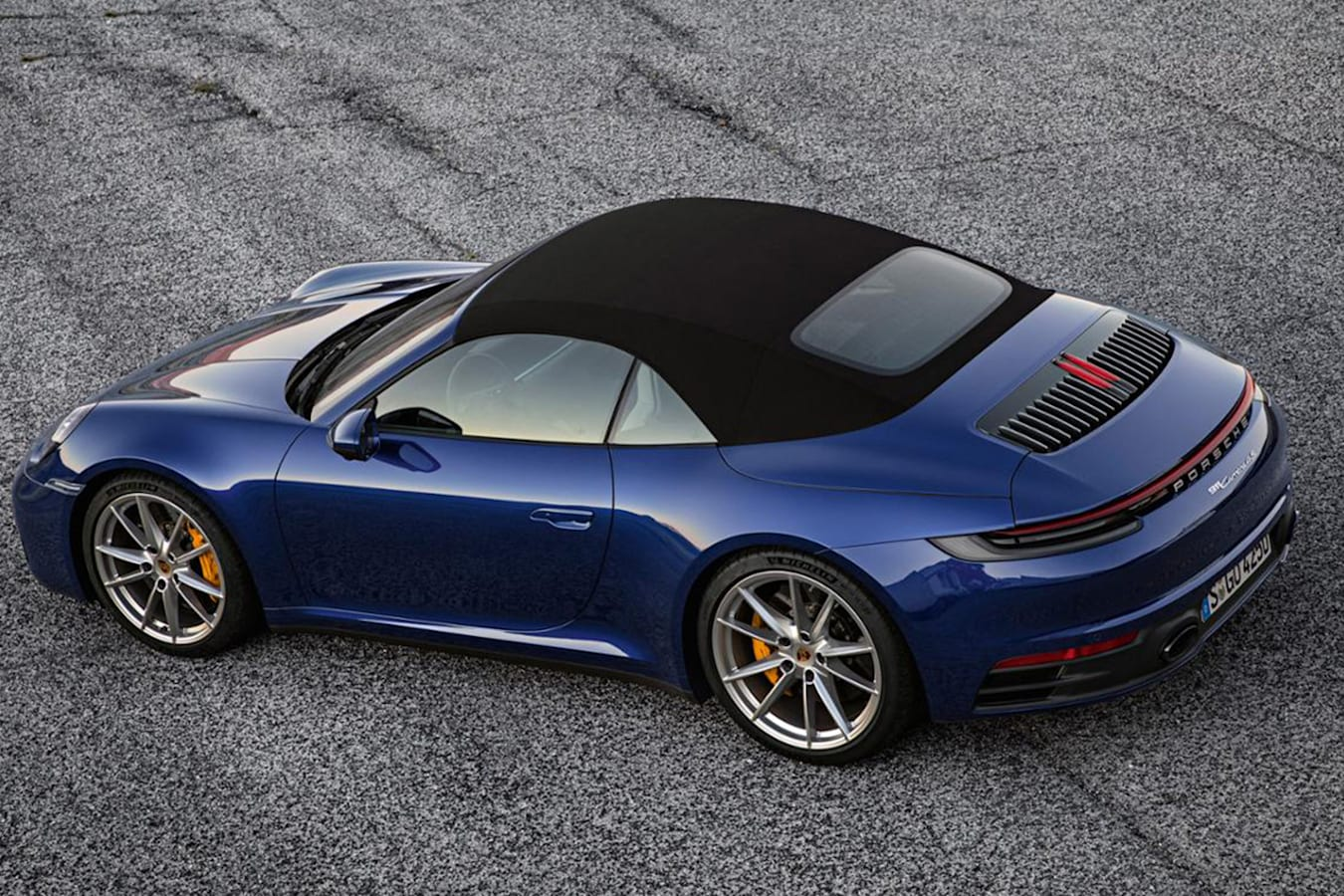 Porsche 911 Cabriolet Roof Jpg