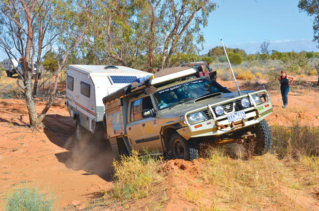 22-A Soft Creekbed Brings The Patrol To A Halt