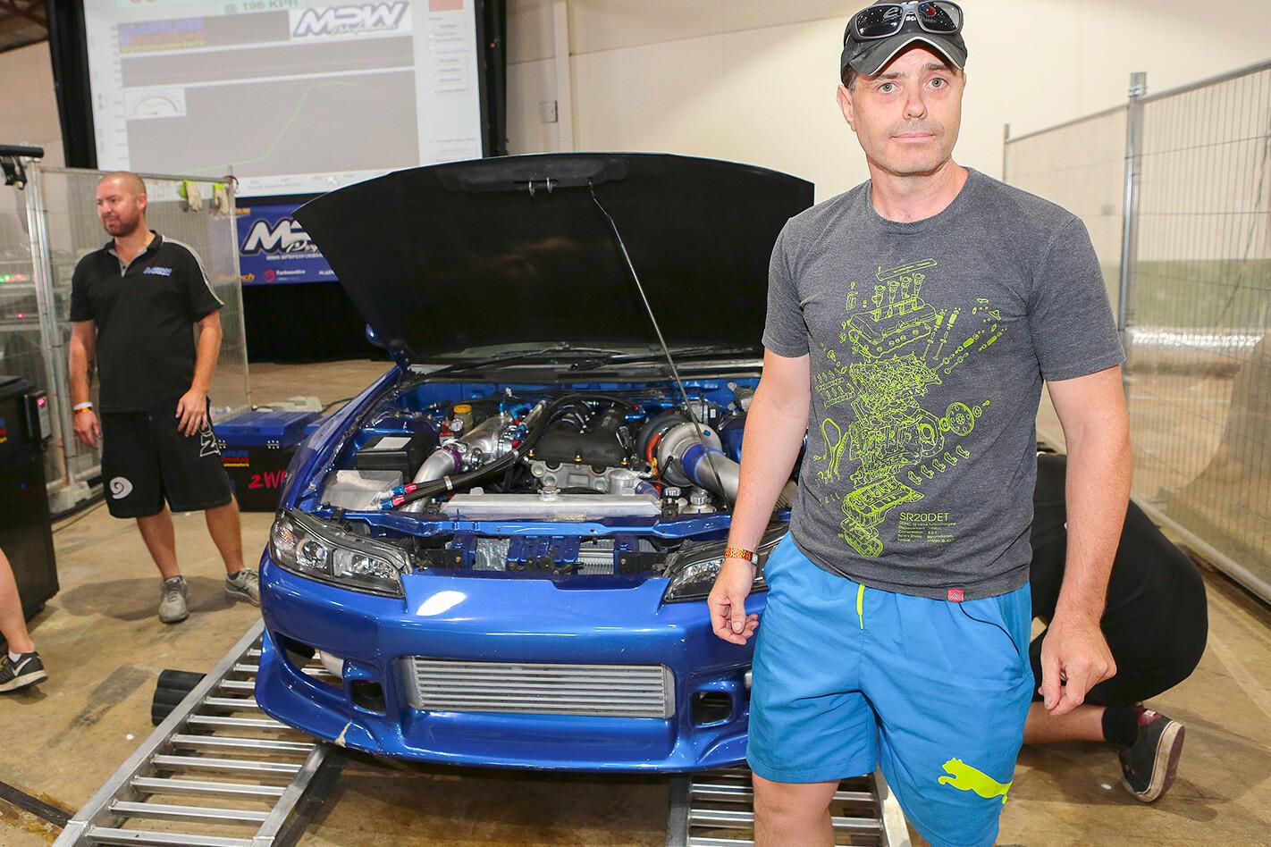 Kris Sheatuer's Nissan 200SX
