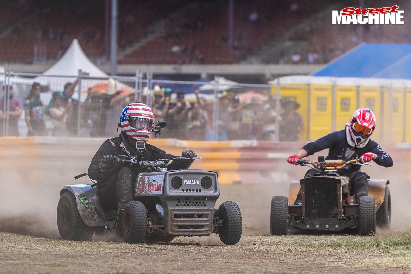Cleetus Lawnmower Race Jpg