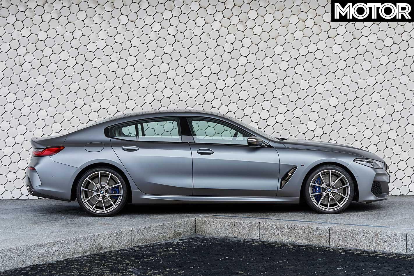 2019 BMW 8 Series Gran Coupe Side Profile Static Jpg