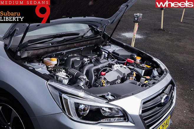 Subaru -Liberty -2-5-Premium -engine