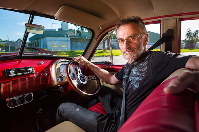 Andrew Brown and his 1951 Holden FX