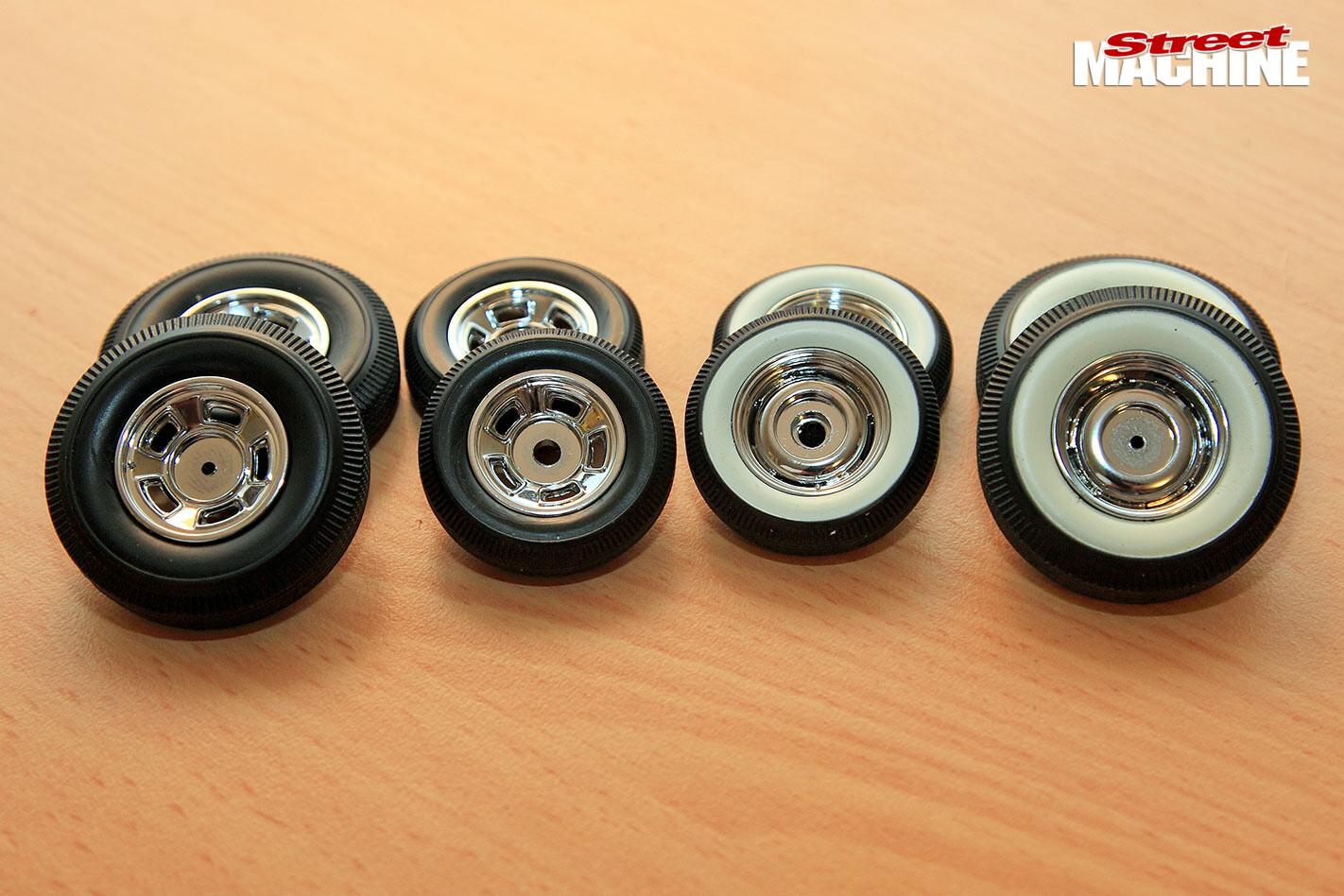 car model kit wheels