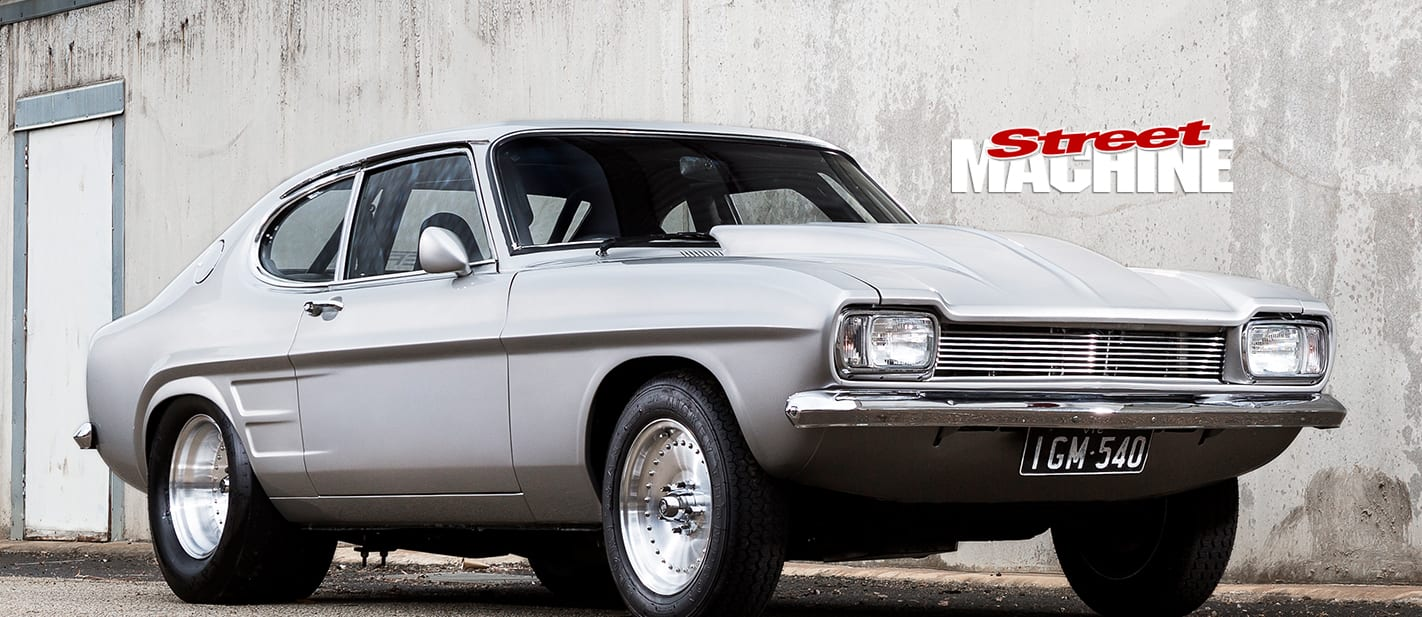 EIGHT-SECOND FORD CAPRI WITH A TWIN-TURBO CHEV 350