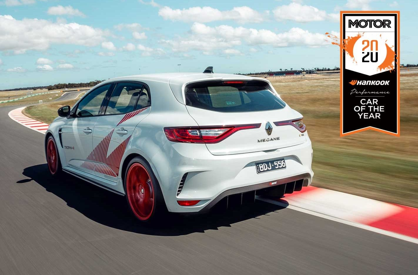 Renault Megane Trophy R Performance Car of the Year 2020 results