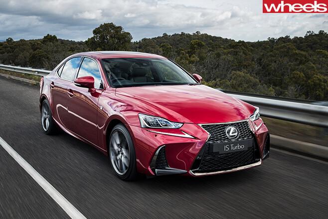 2017-Lexus -IS200t -driving