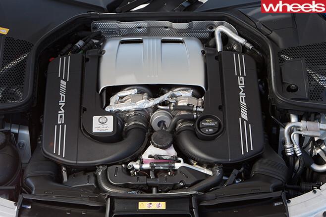 Mercedes -Benz -C-Class -Cabriolet -engine