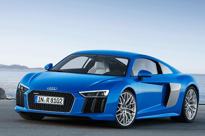 Audi R8 front side