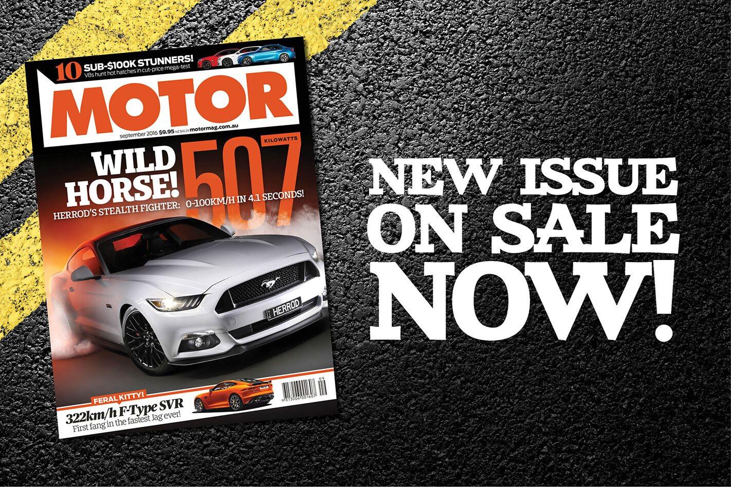 MOTOR September issue preview