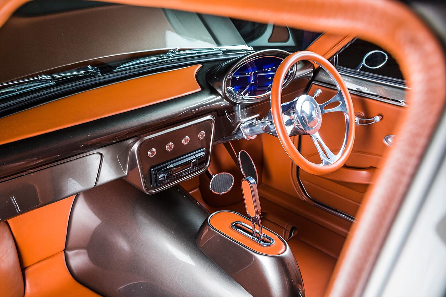Mazda RX-3 interior