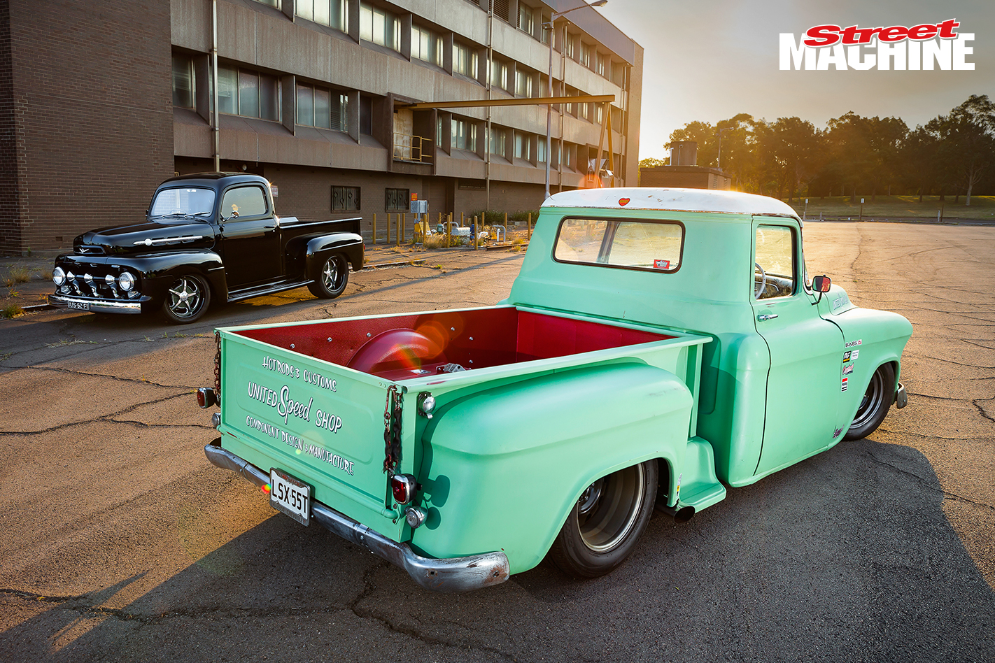 55 Chevy Pick Up 2