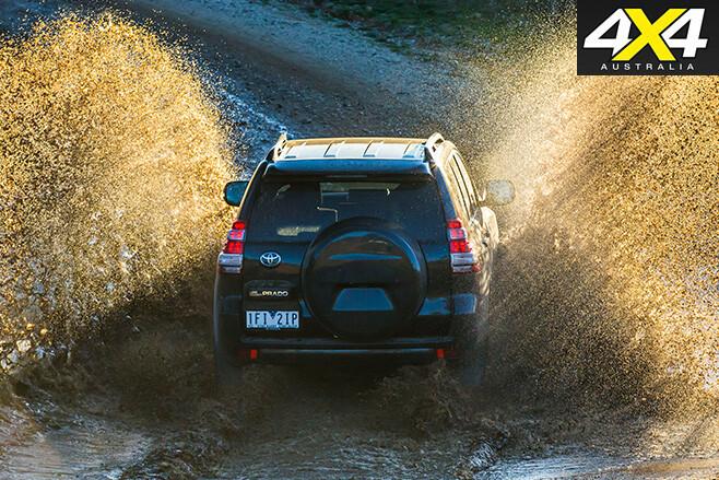 Toyota prado 2016 driving splash