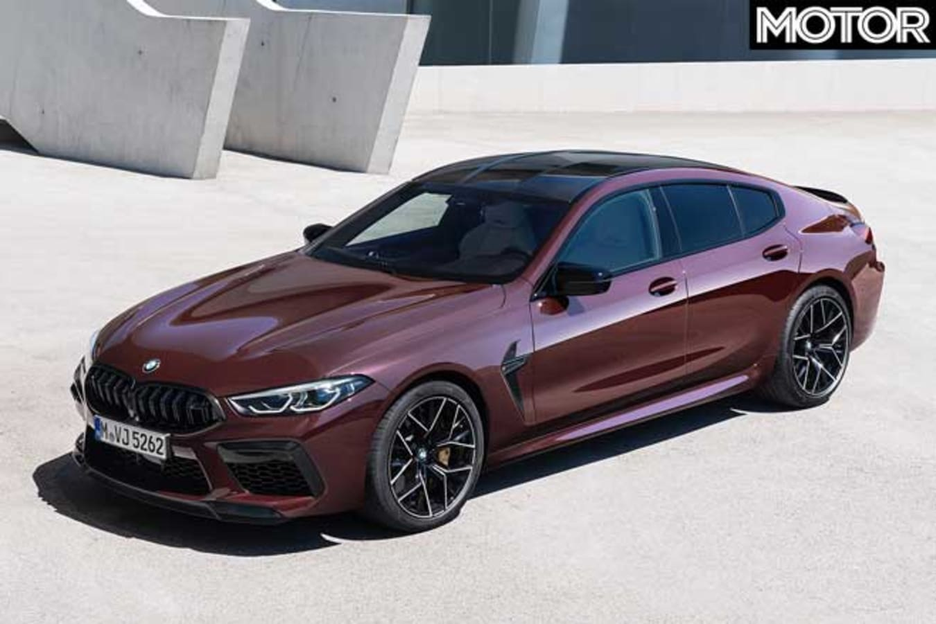 BMW M 8 Competition Gran Coupe Top Jpg