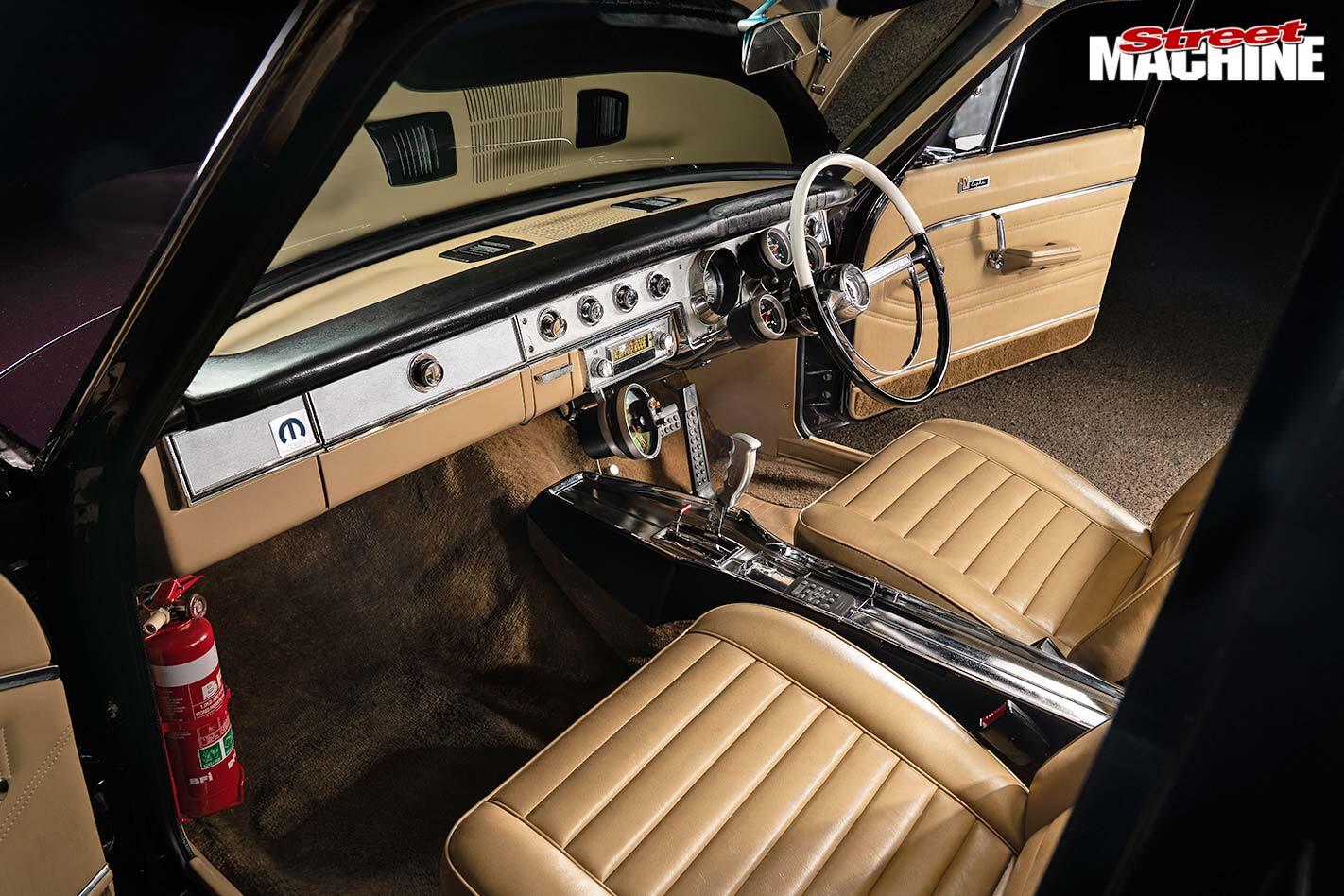 chrysler VC Valiant interior front