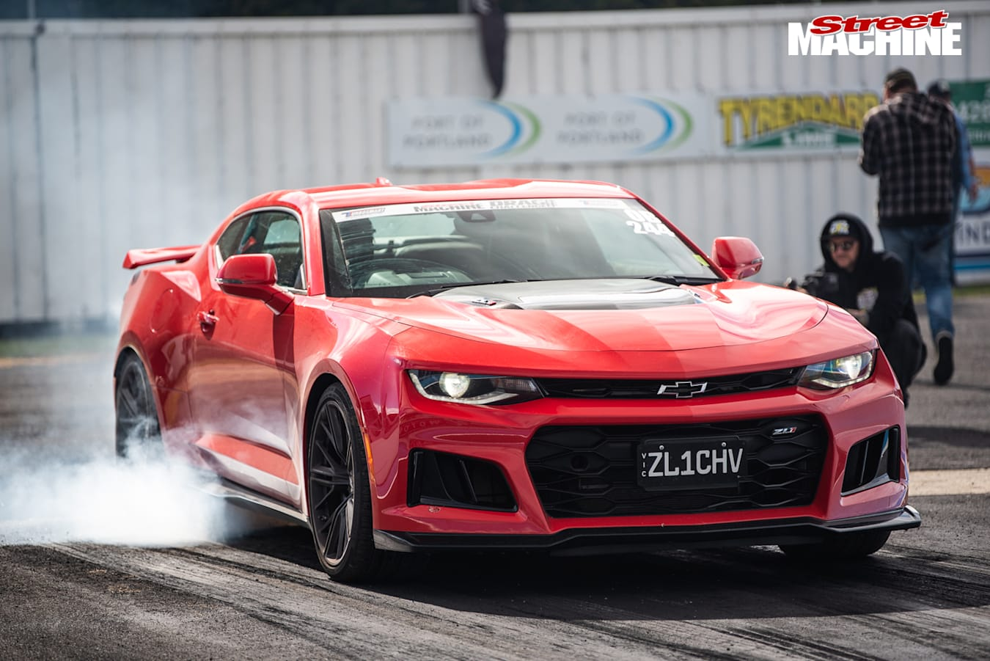Drag Challenge ZL1 Camaro