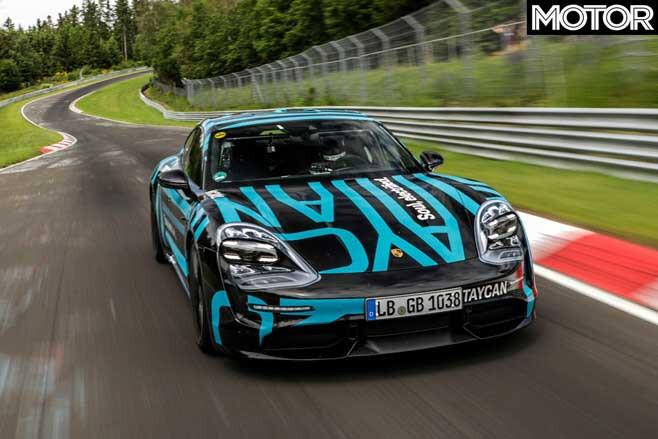 Porsche Taycan Nurburgring Lap Time Jpg
