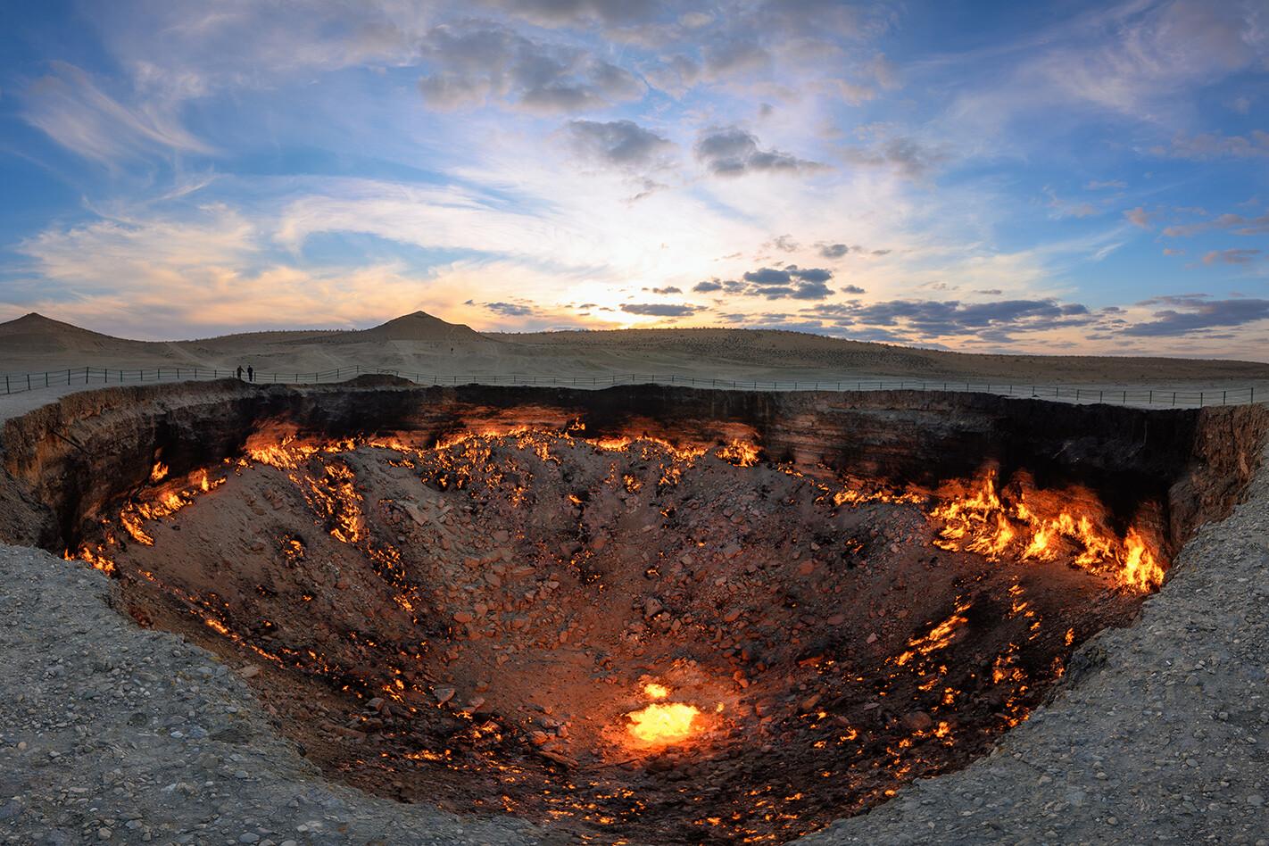 turkmenistan fire pit