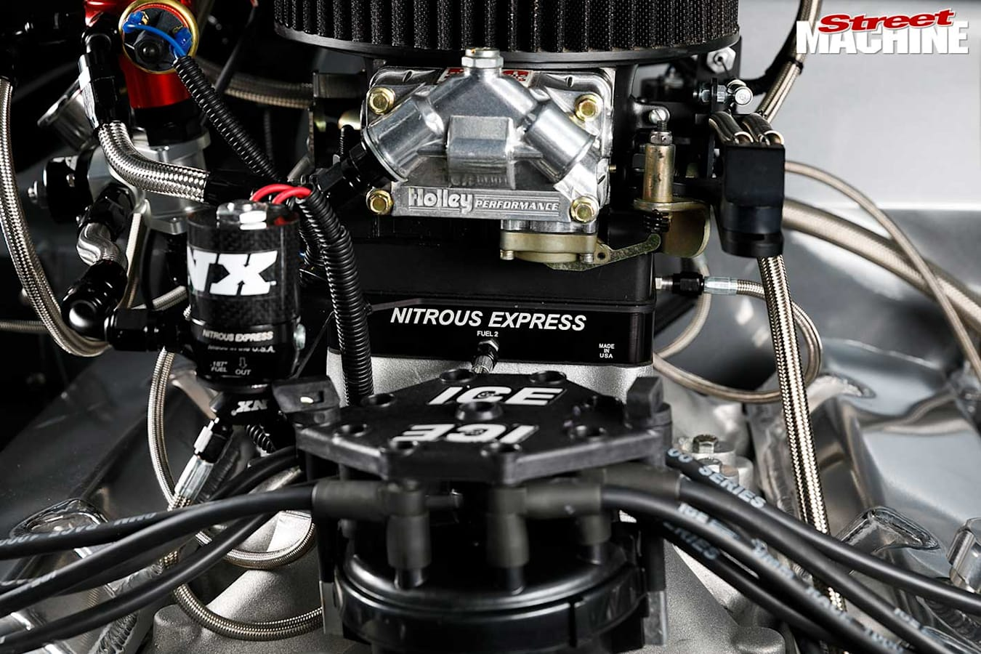 Ford Falcon XY ute engine bay
