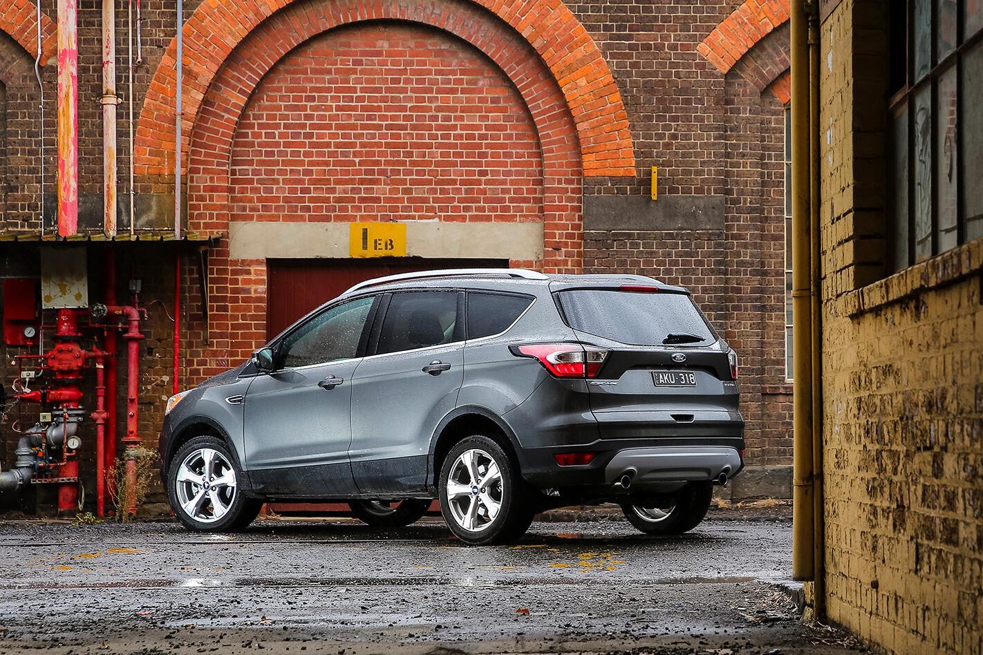 Ford Escape Trend Rear Jpg
