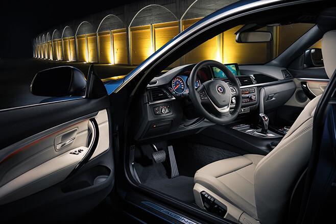 Alpina BMW 4 series interior