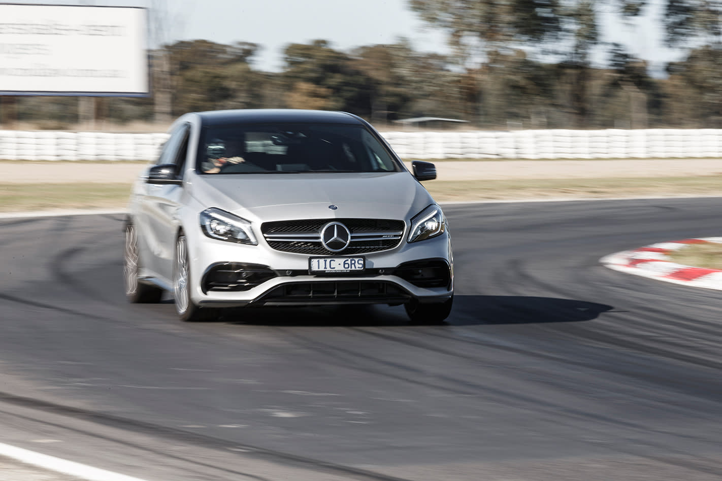 2017 Mercedes AMG A45 front.jpg