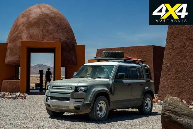 2020 Land Rover Defender 110 Front Jpg