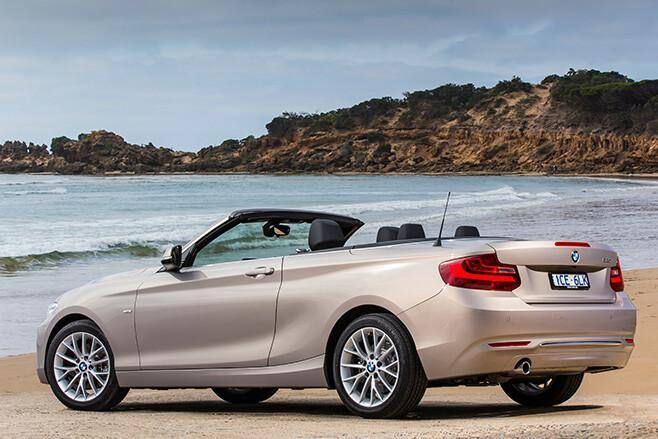 BMW 220i Side