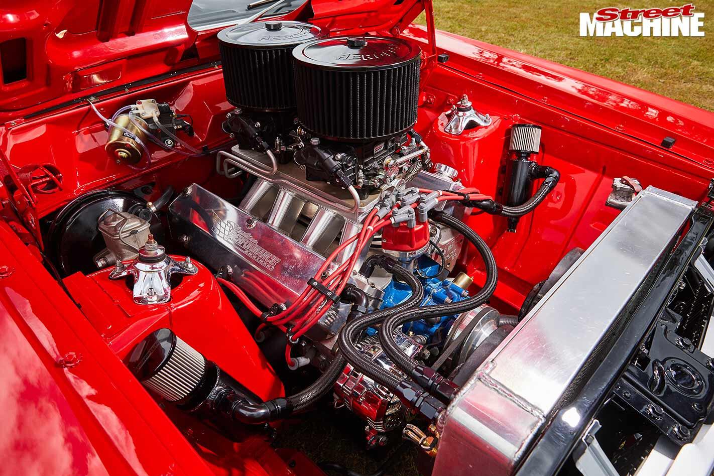 Ford Falcon XY GS engine bay