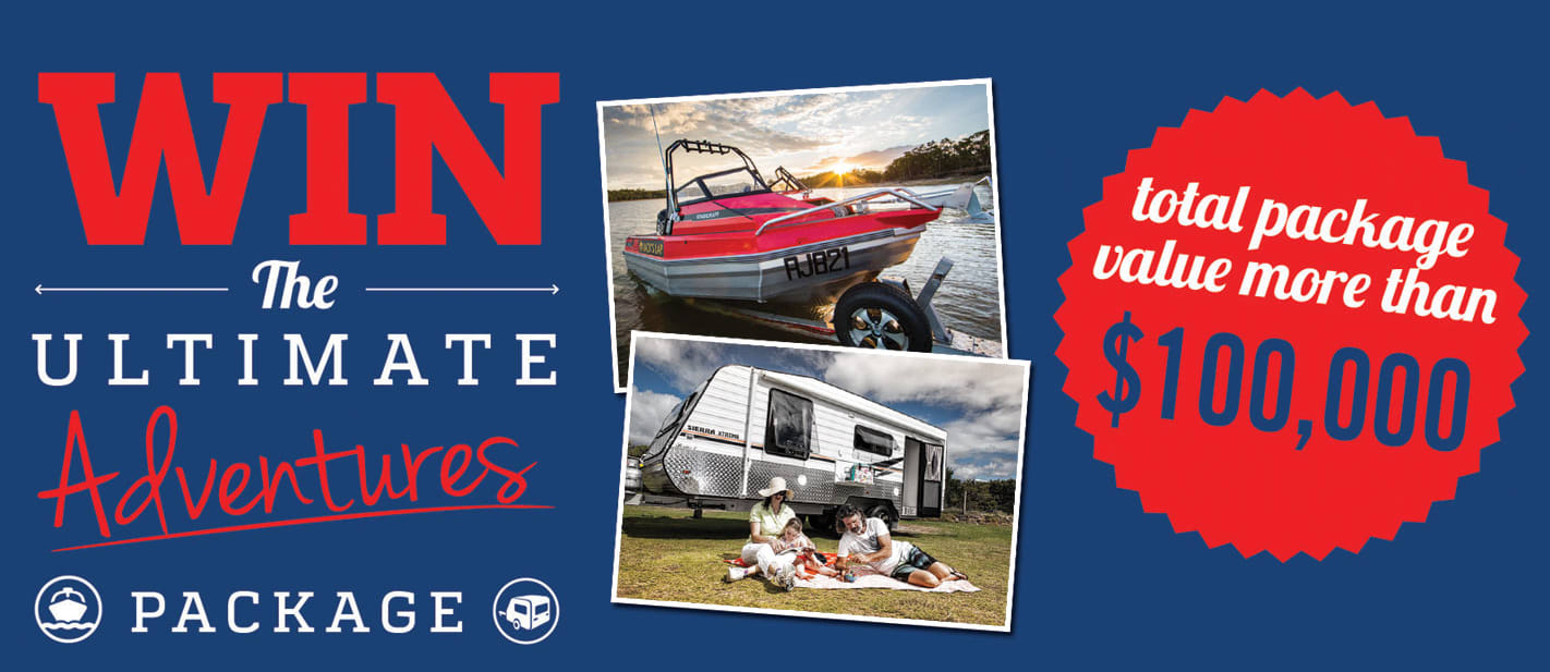 Win the Ultimate Adventures Package