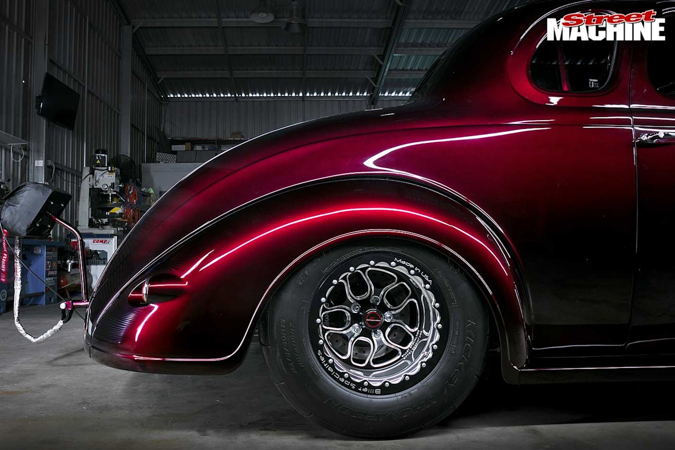 Plymouth coupe rear