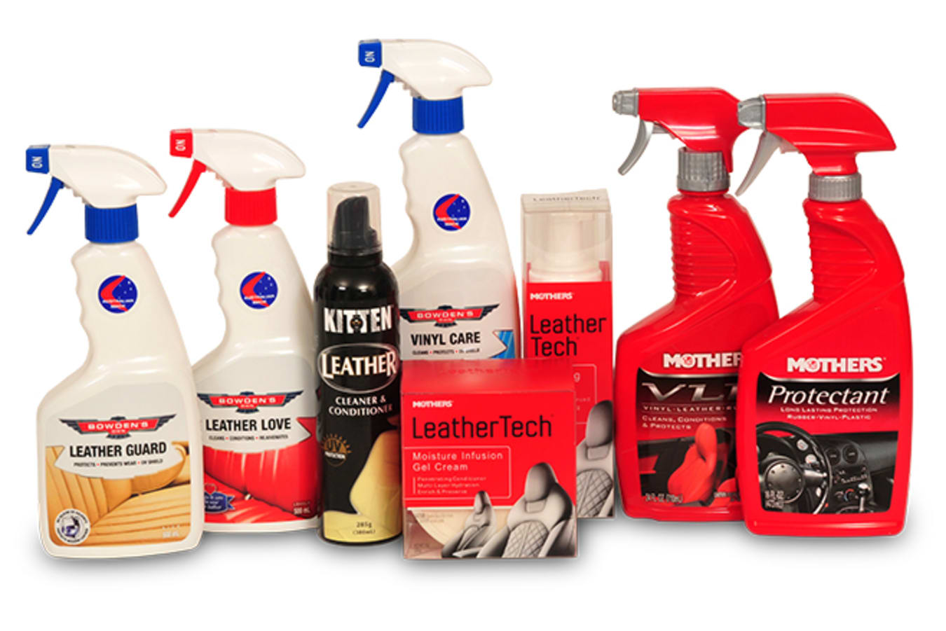 leather cleaning products